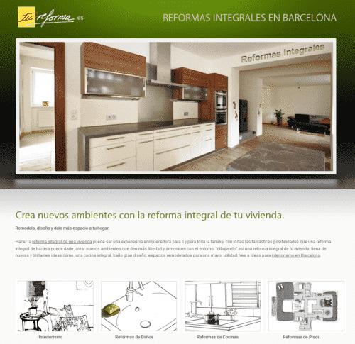 Cocinas y reformas integrales en Barcelona por Tu-Reforma.es